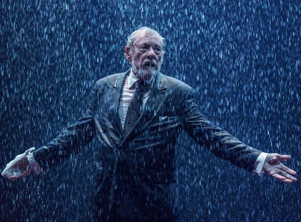 Ian McKellen as King Lear in Chichester's Minerva Theatre