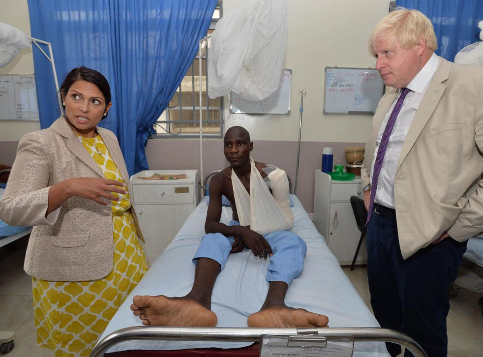 Minister Priti Patel visited Nigeria to witness the impact of human trafficking first hand