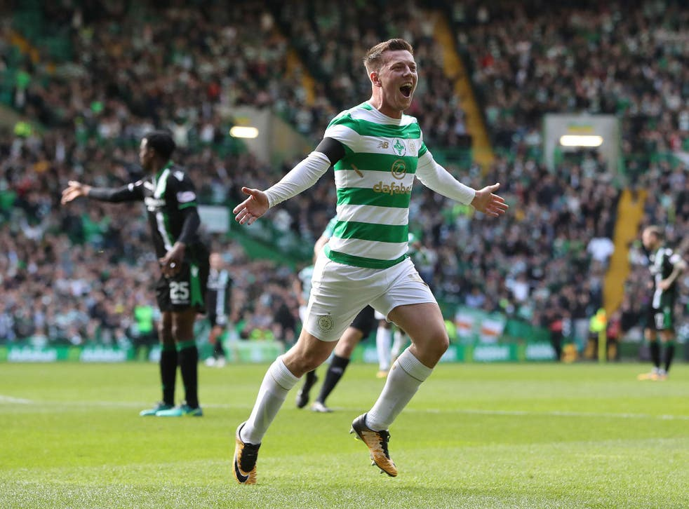 Callum McGregor netted a double for Celtic in their recent 2-2 draw with Hibernian