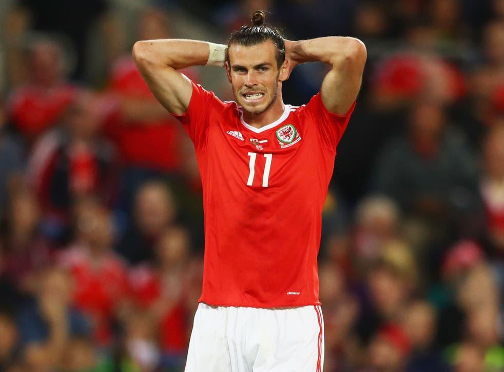 Bale has a calf strain