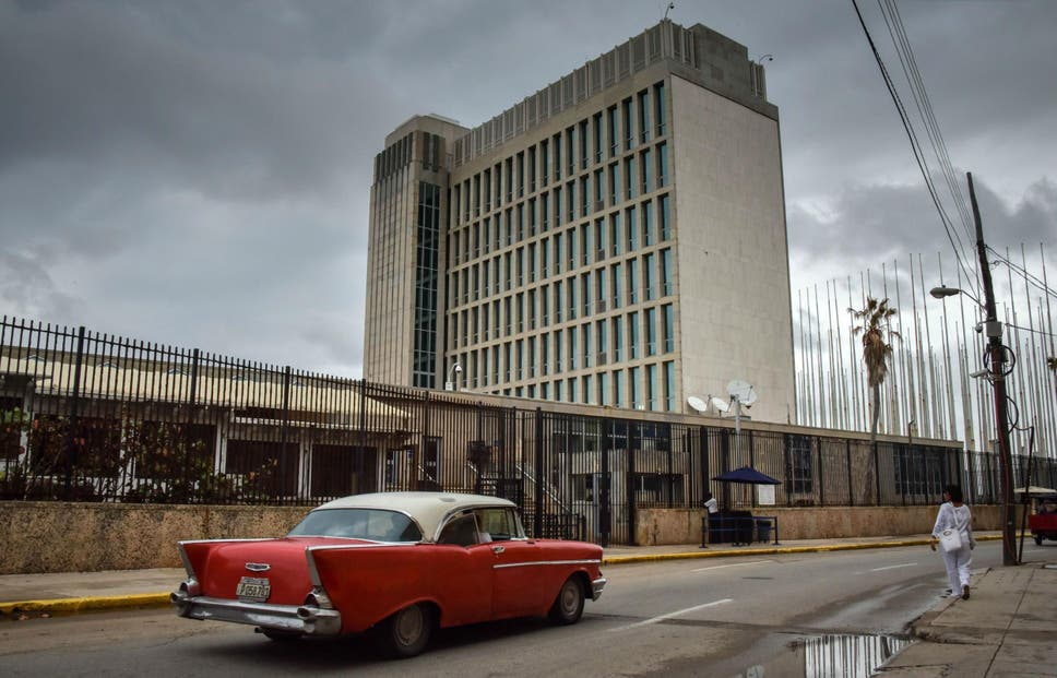 Donald trump expels 15 cuban diplomats following mysterious sonic the us has reduced the number of personnel by 60 per cent after many fell ill stopboris Images