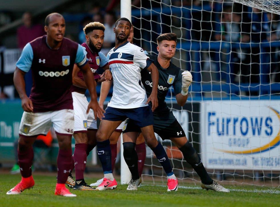 Goalkeeper Matija Sarkic signed for Aston Villa in the summer of 2015