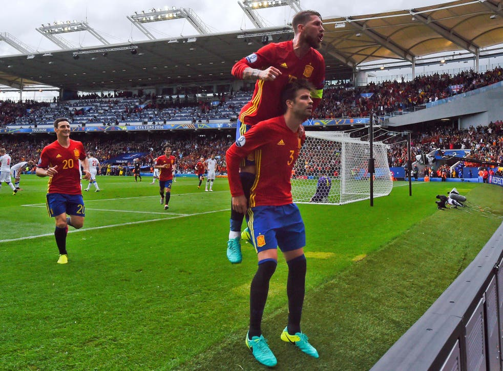 Pique and Ramos have always had a strong rivalry