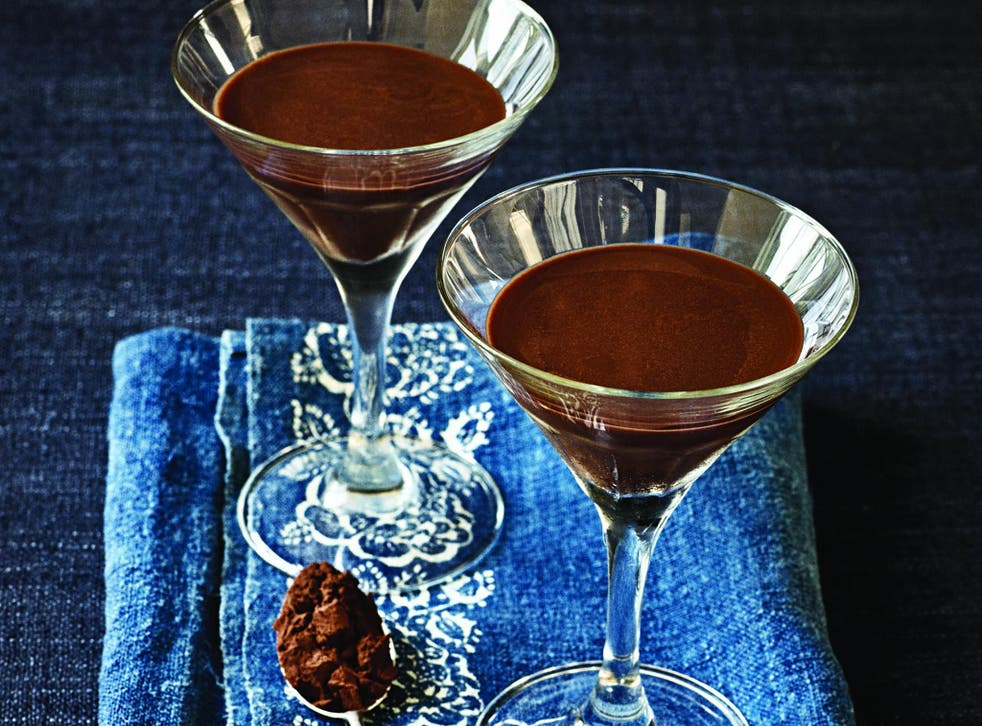 The genuine article: Paul A Young says only real chocolate makes the best chocolate martini