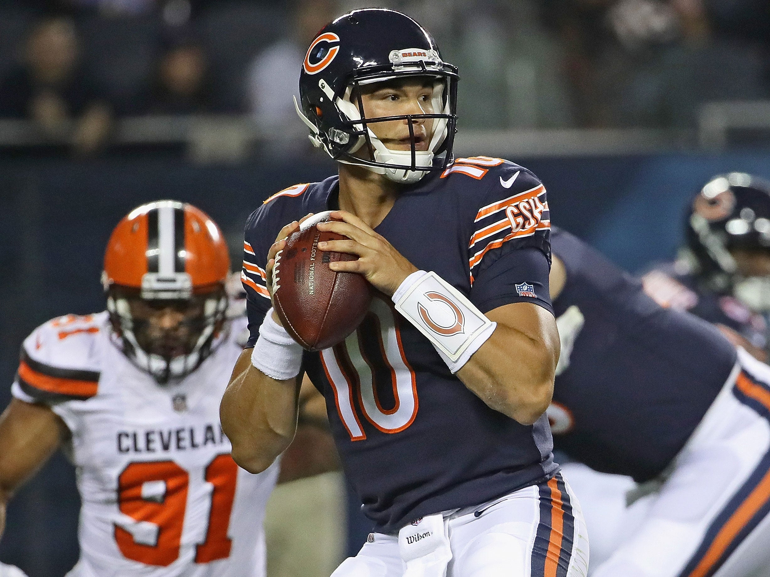 9e1ca852ef6 The Chicago Bears are rolling with Mitchell Trubisky, but that's only the  first step of an important process