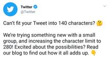 Lengthen your tweets