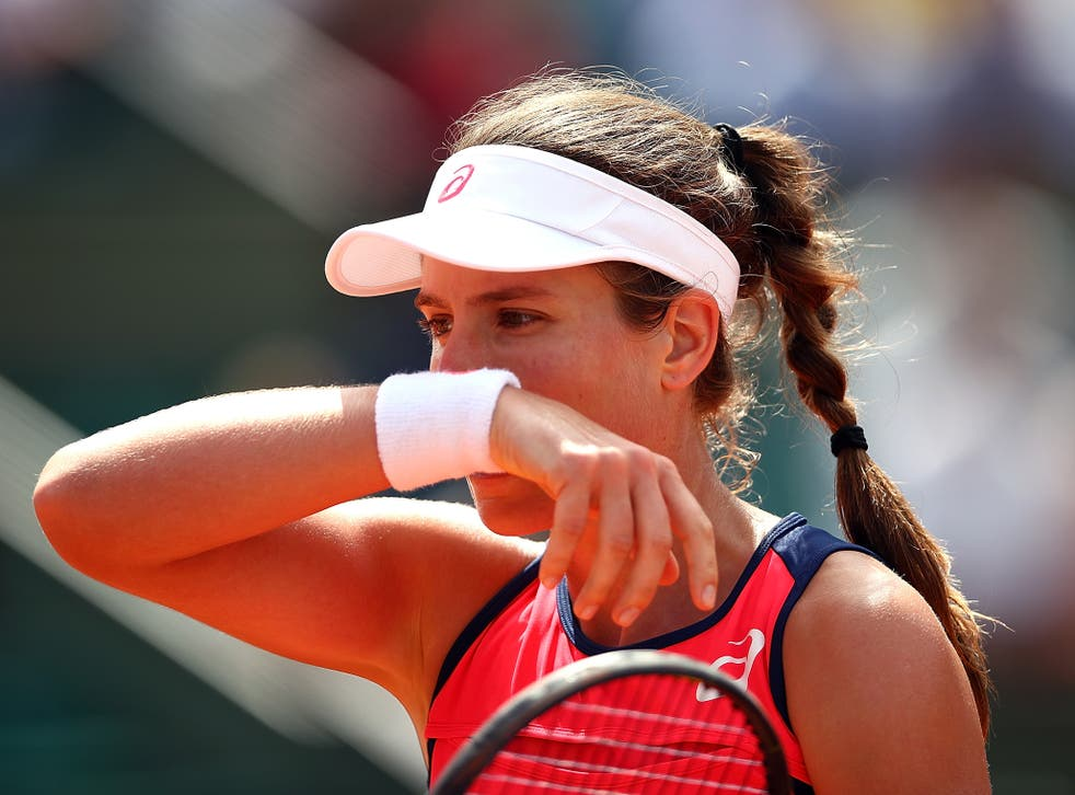 Konta's place at the WTA Finals could be in jeopardy