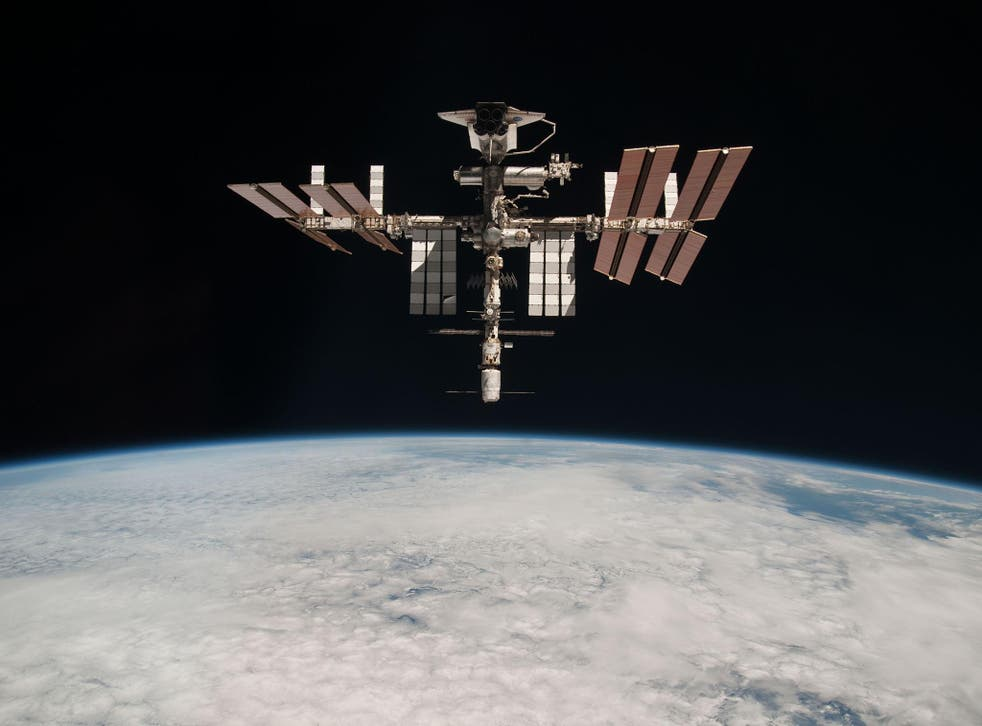 Even astronauts need time to unwind: the station has a well-stocked film library and an eclectic selection of books