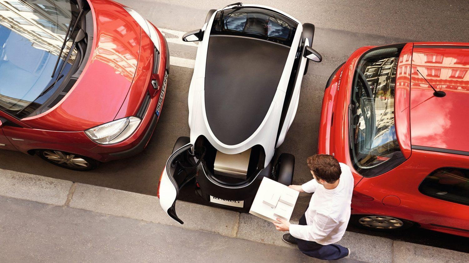 Car Review Renault Twizy Cargo The Independent The Independent