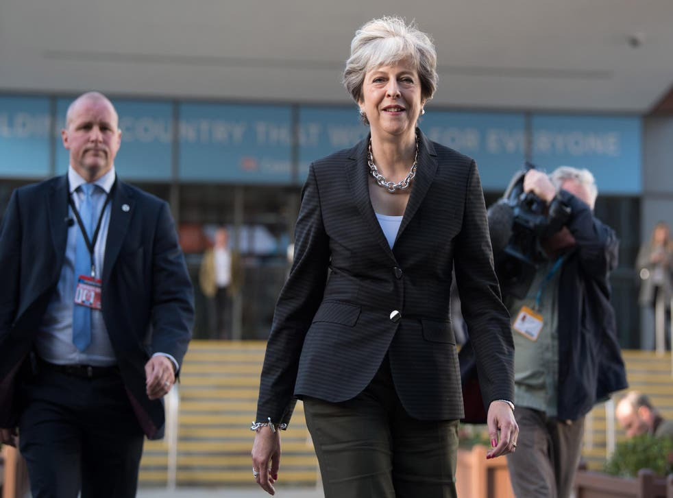 Theresa May has brushed aside claims Boris Johnson undermined her