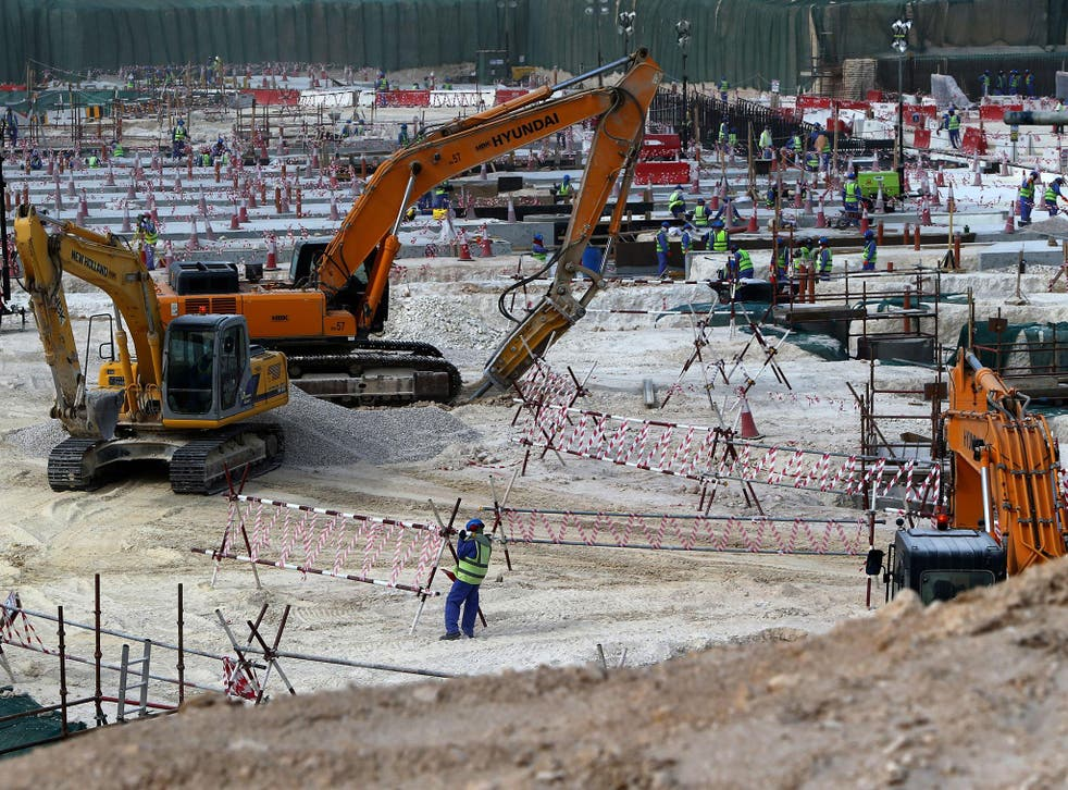 Qatar's population is 2.6 million, of whom nearly 90 per cent are migrant workers