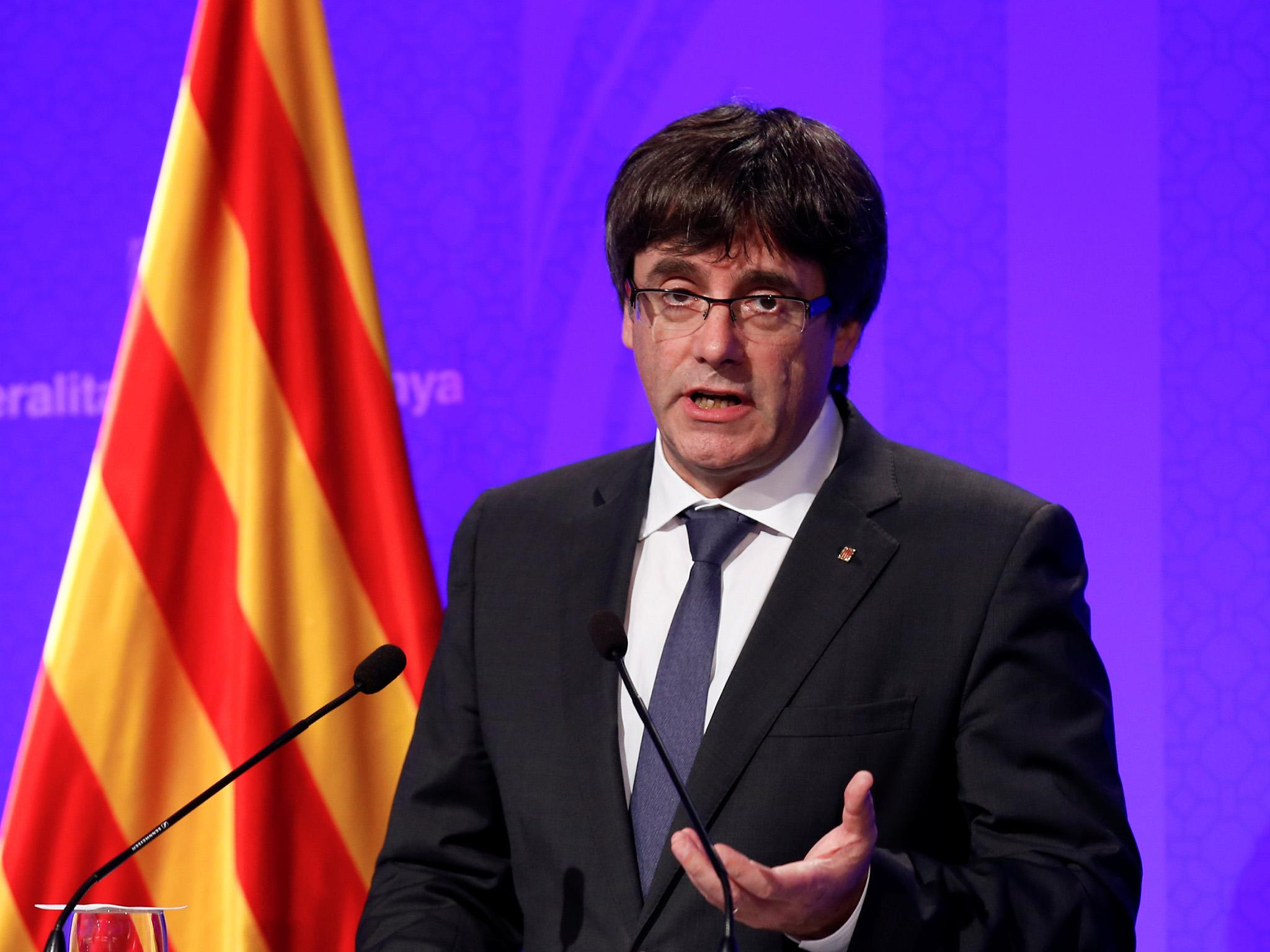 Catalonia will declare independence in days, says region's ...