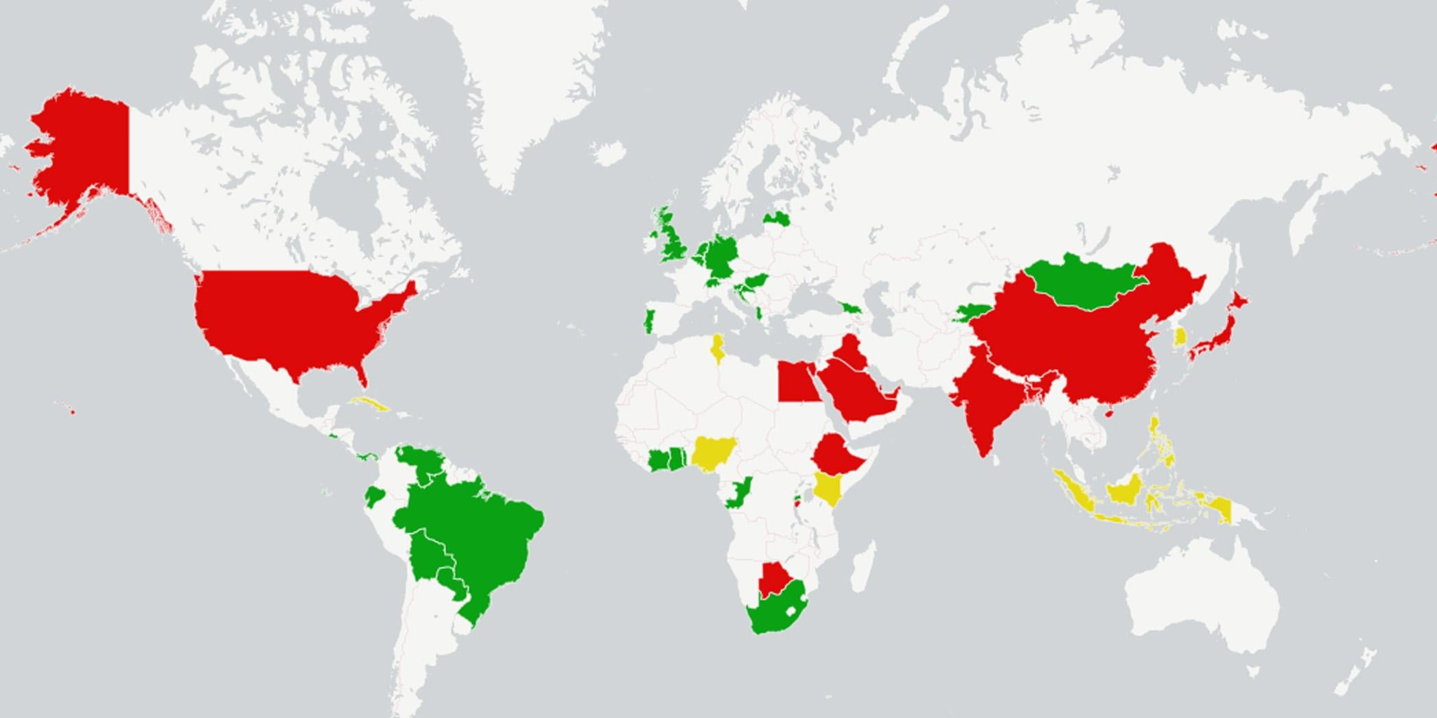 The US just voted not to condemn countries that have the ... Usa States With Penalty on