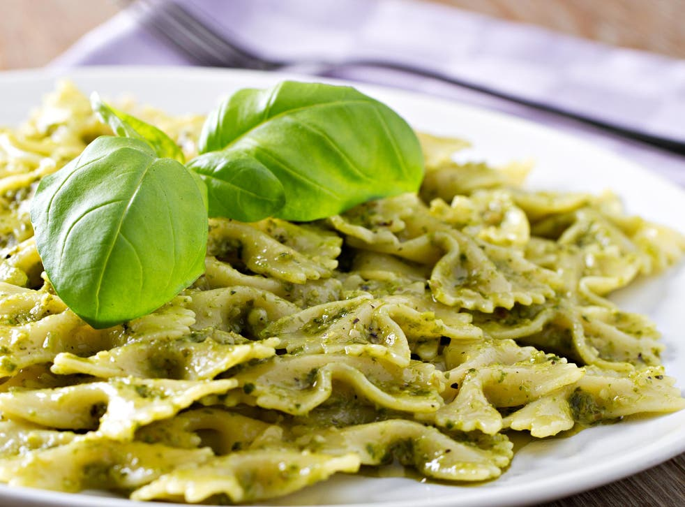 Olive oil was also substituted with sunflower oil, and parmesan with less expensive cheeses