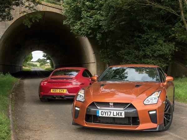 GT sports cars: Nissan GT-R v Porsche 911 GTS | The Independentindependent_brand_ident_LOGOUntitled