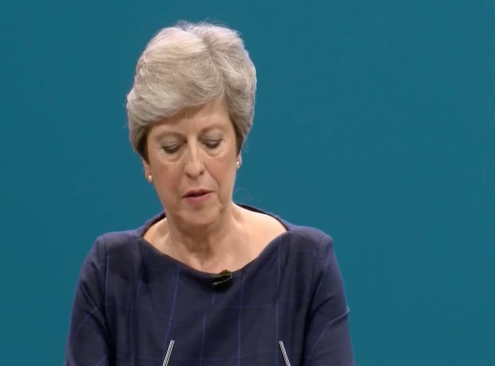"""Theresa May spoke of her dream of a society where it does not matter """"where you are from or who your parents are"""""""