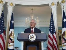 Tillerson denies he wants to resign, but doesn't deny 'moron' comment