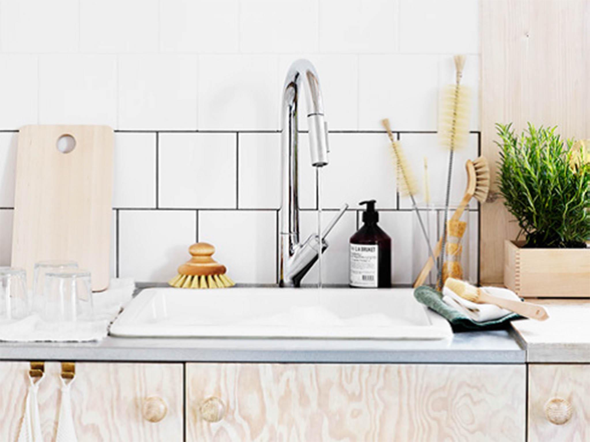 45 Pieces All Purpose Kitchen Scrubbers Scrubber Scrub Scourer Wash Clean Dish