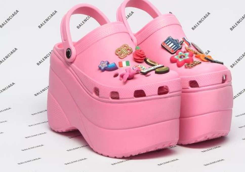 34318cf2481173 Balenciaga x Crocs  The world s ugliest shoe just got a high-fashion  makeover