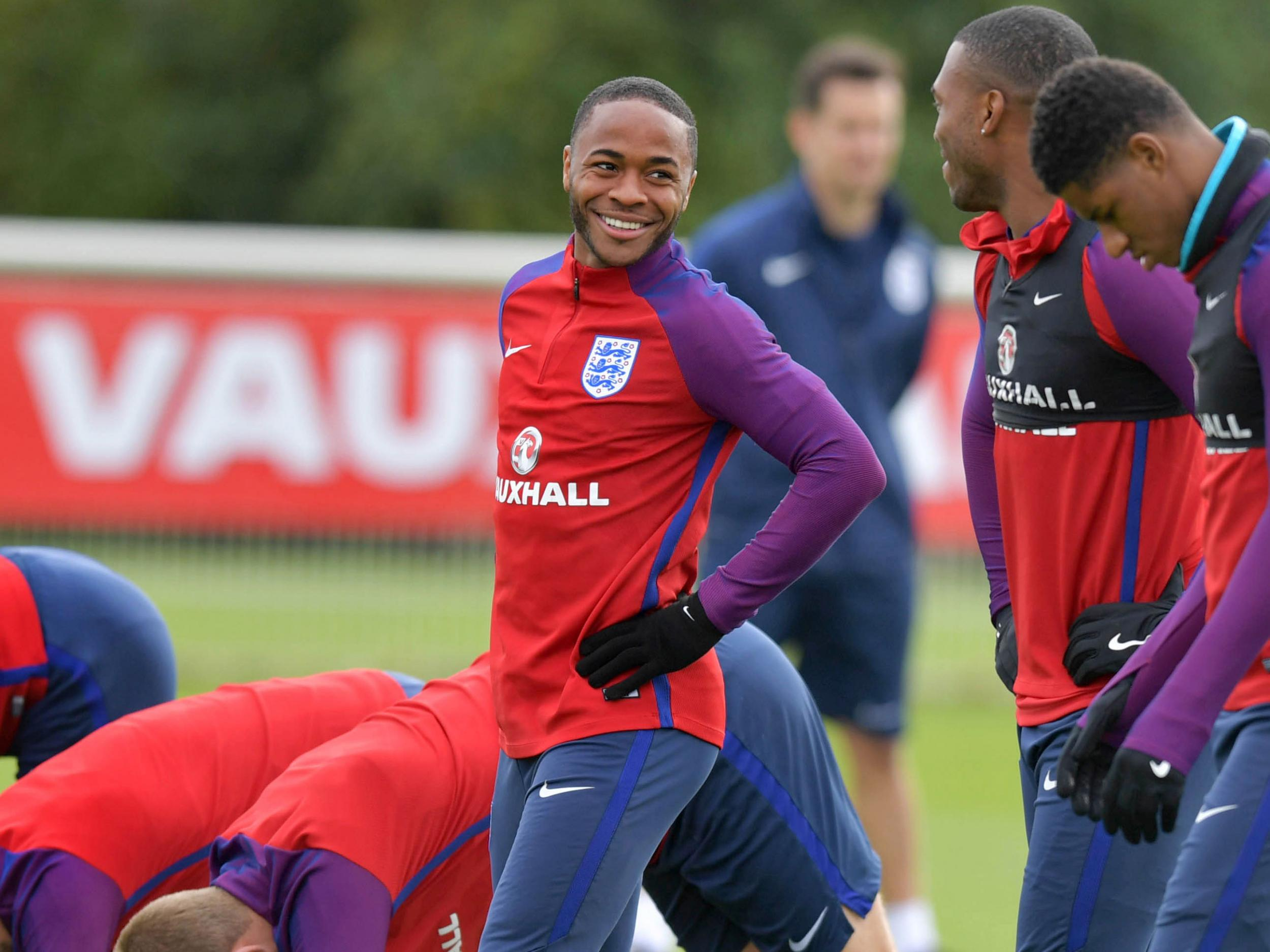 Raheem Sterling ready to step into Dele Alli's England role and step up to Pep Guardiola's challenges