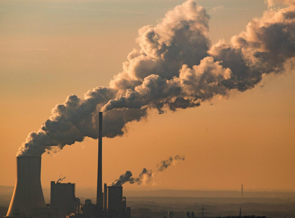 Power plants account for almost 40 per cent of US carbon emissions.