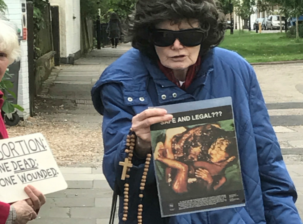 Evidence presented to the council meeting presented accounts from residents of pro-life demonstrators 'terrorising' women on the street
