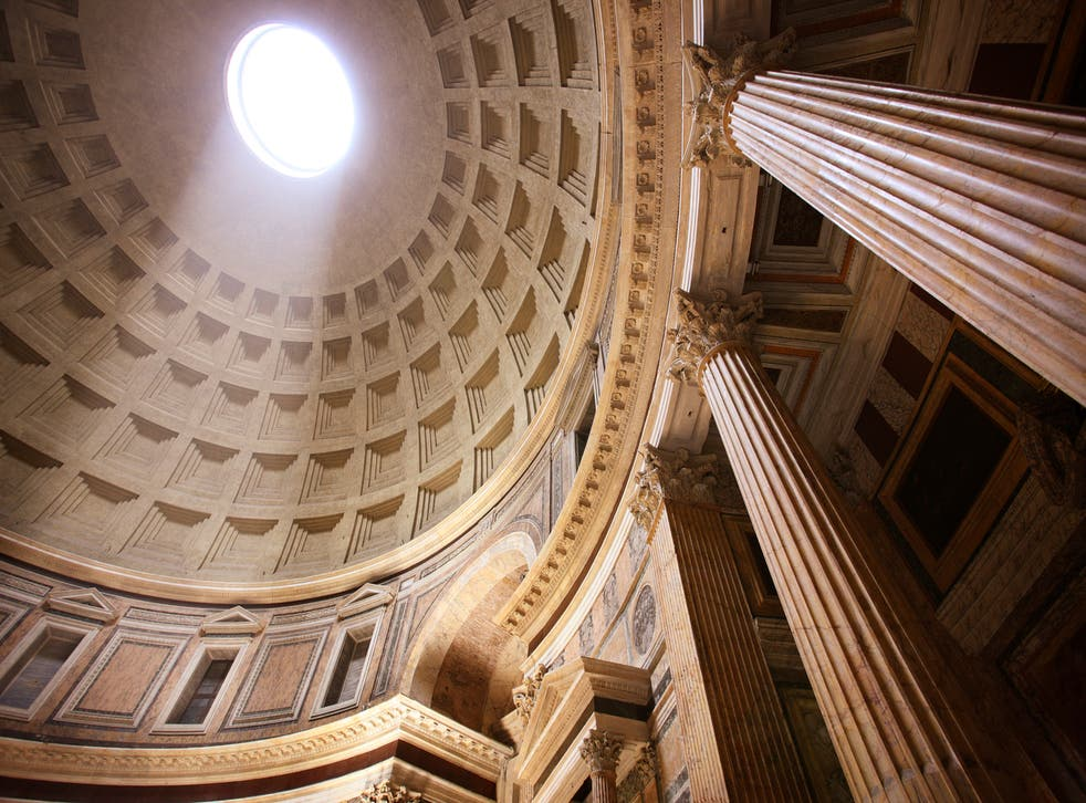 The two thousand year old structure draws seven million visitors a year