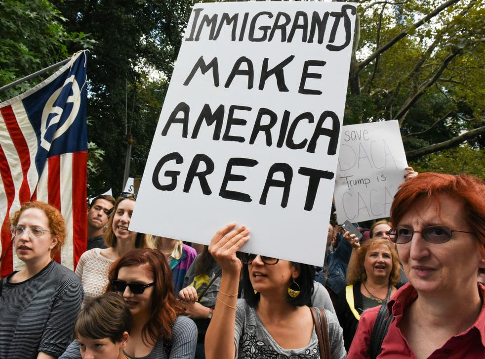 The DACA programme has helped roughly 700,000 young immigrants to find a sense of normalcy in the US