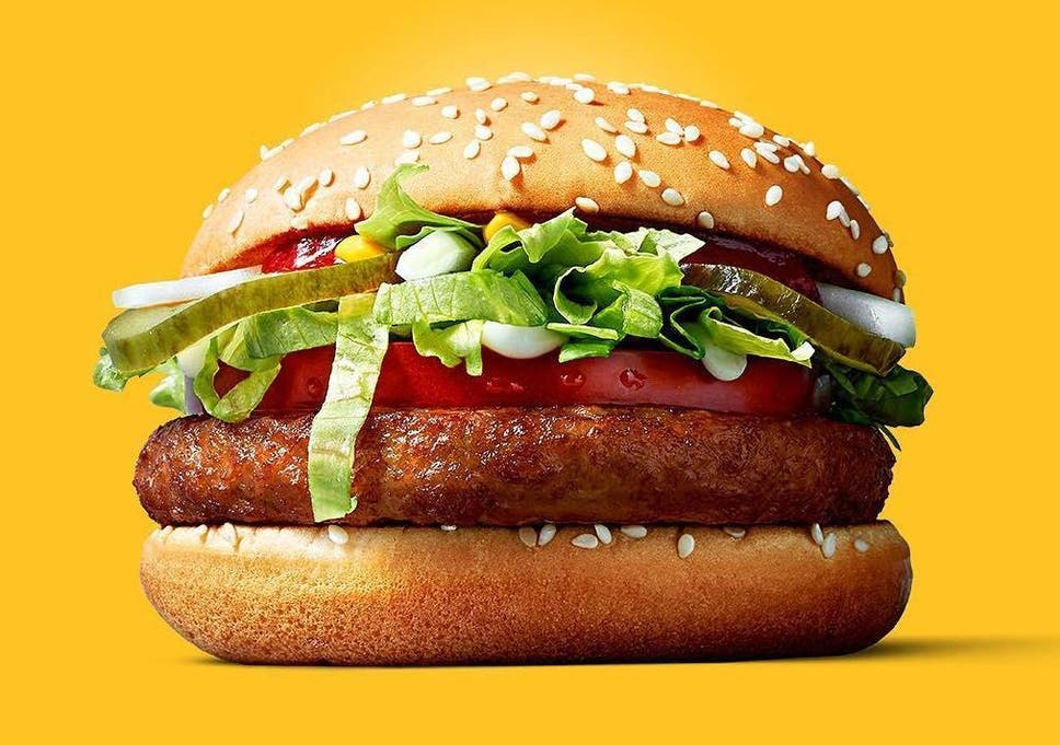 a0bb0c196fad McDonald's trials vegan burger | The Independent