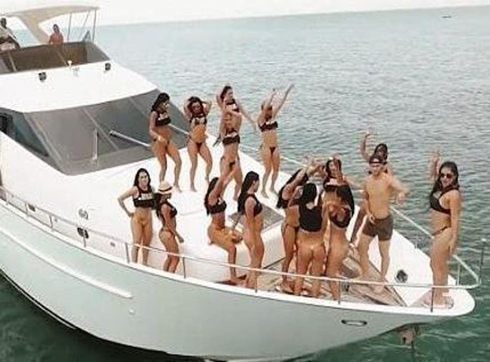Naked girls on boat ytoutube Youtube Removes Video Advertising Colombian Sex Island Holiday The Independent The Independent
