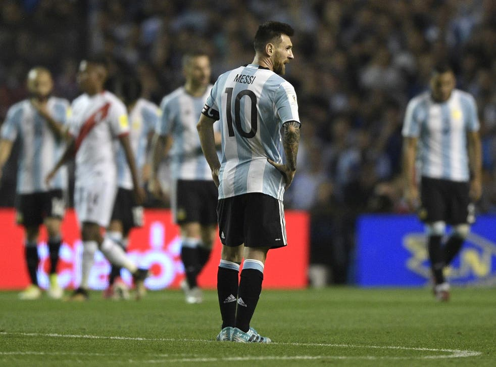 Argentina are on the verge of missing out on Russia 2018