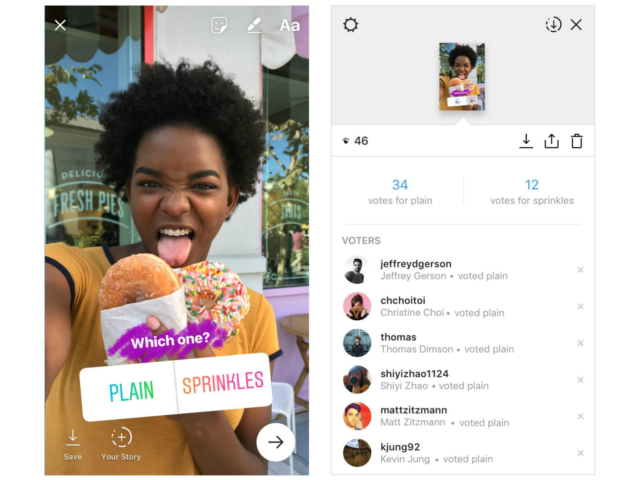 Instagram Polls Is Embarrassing Users Who Thought Their Votes Were Like 100 Real Indonesia Anonymous The Independent