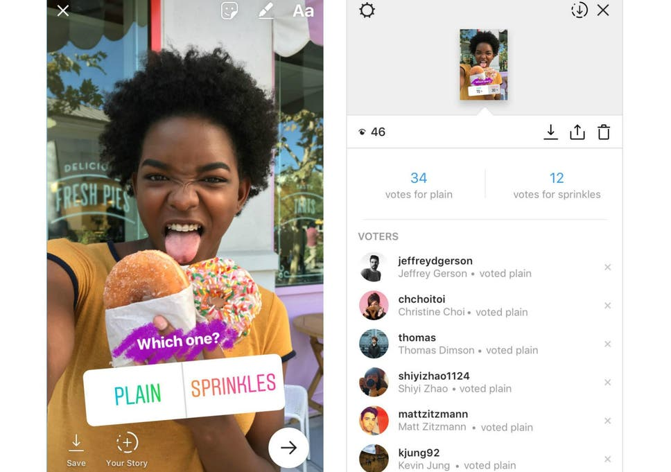 Instagram Polls is embarrassing users who thought their votes were