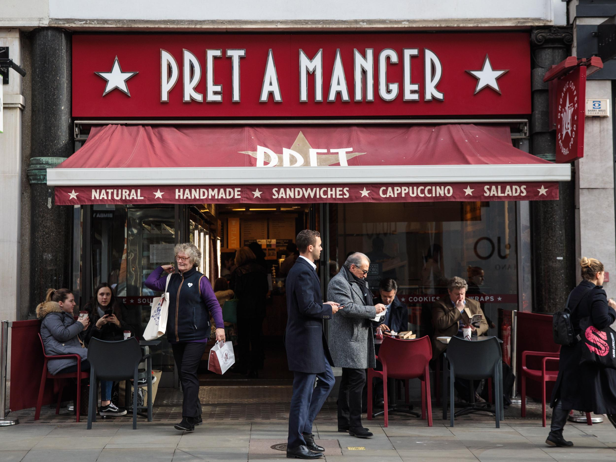 Pret A Manger to introduce filtered water stations in bid to cut ...