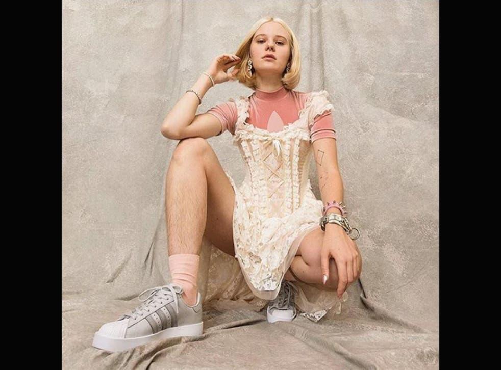 Arvida Byström's photo from the Adidas Originals superstar campaign