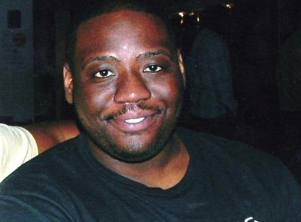 Seni Lewis, 23, died after he was restrained by 11 police officers for more than 30 minutes while he was having an acute mental health episode