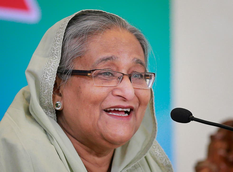 """Prime minister Sheikh Hasina called for """"exemplary punishment"""""""