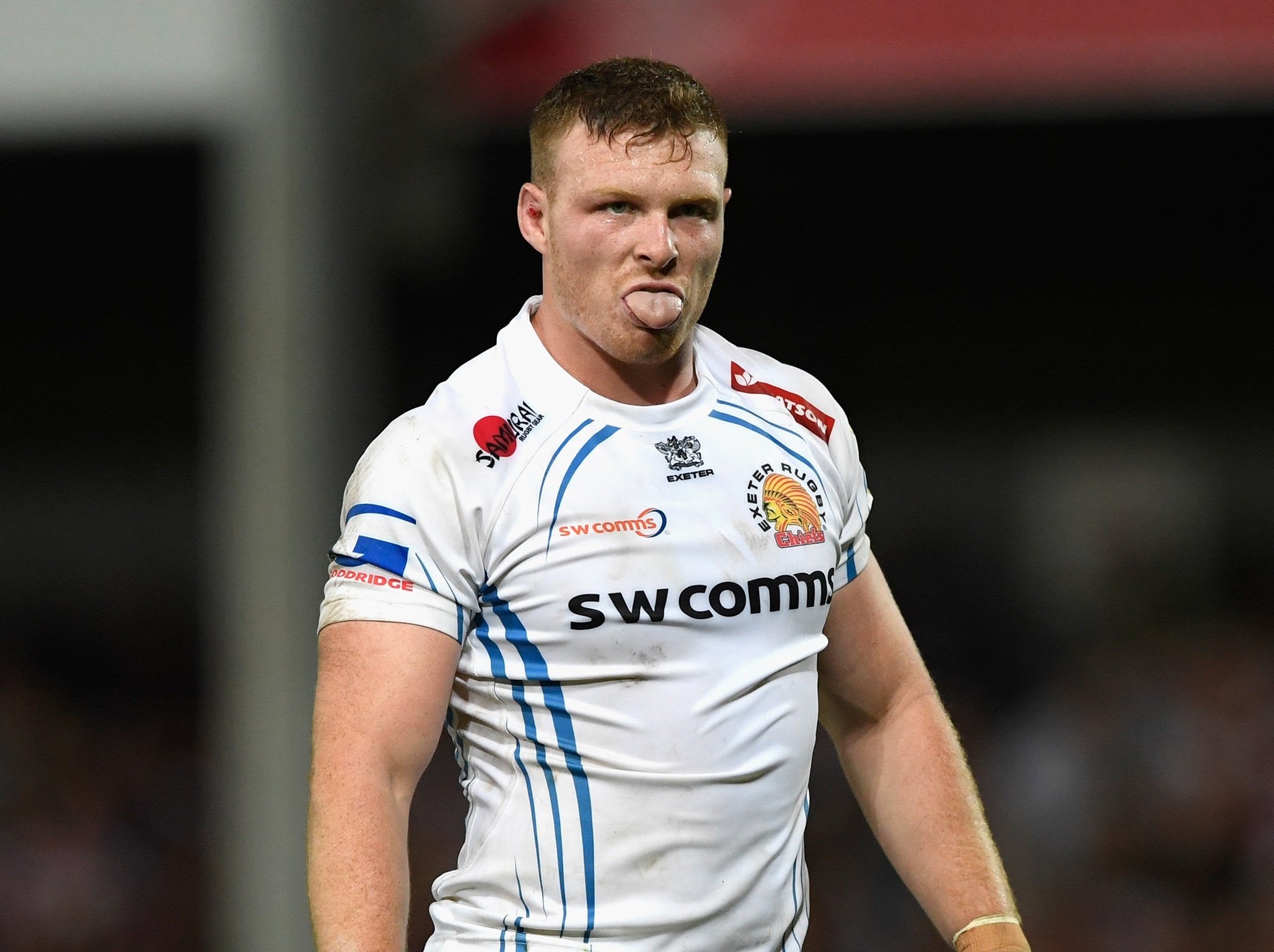 Does Exeter's in-form No 8 Sam Simmonds have what it takes to mix it at  international level? | The Independent | The Independent