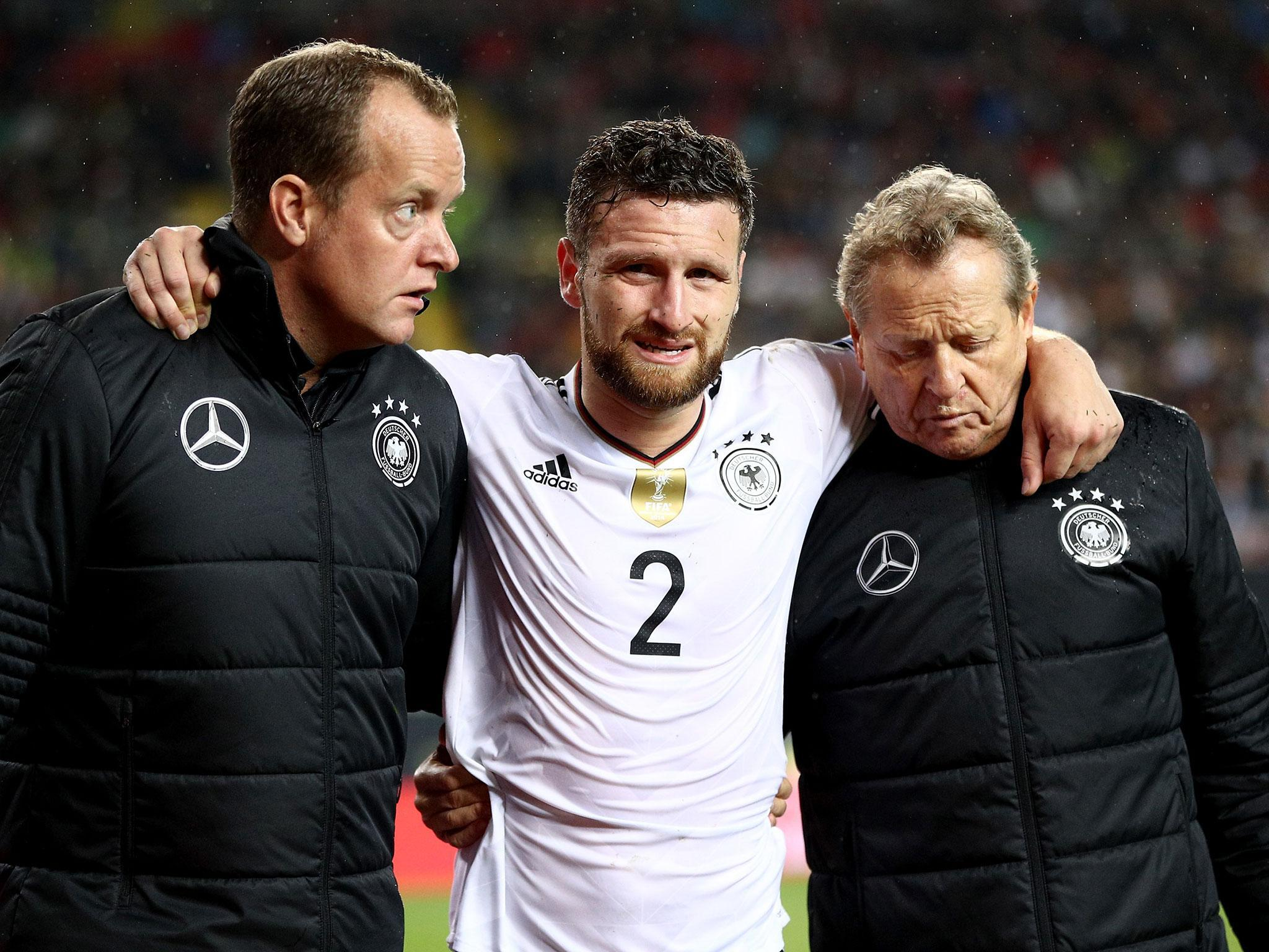 Arsenal handed injury blow with Shkodran Mustafi ruled out for a