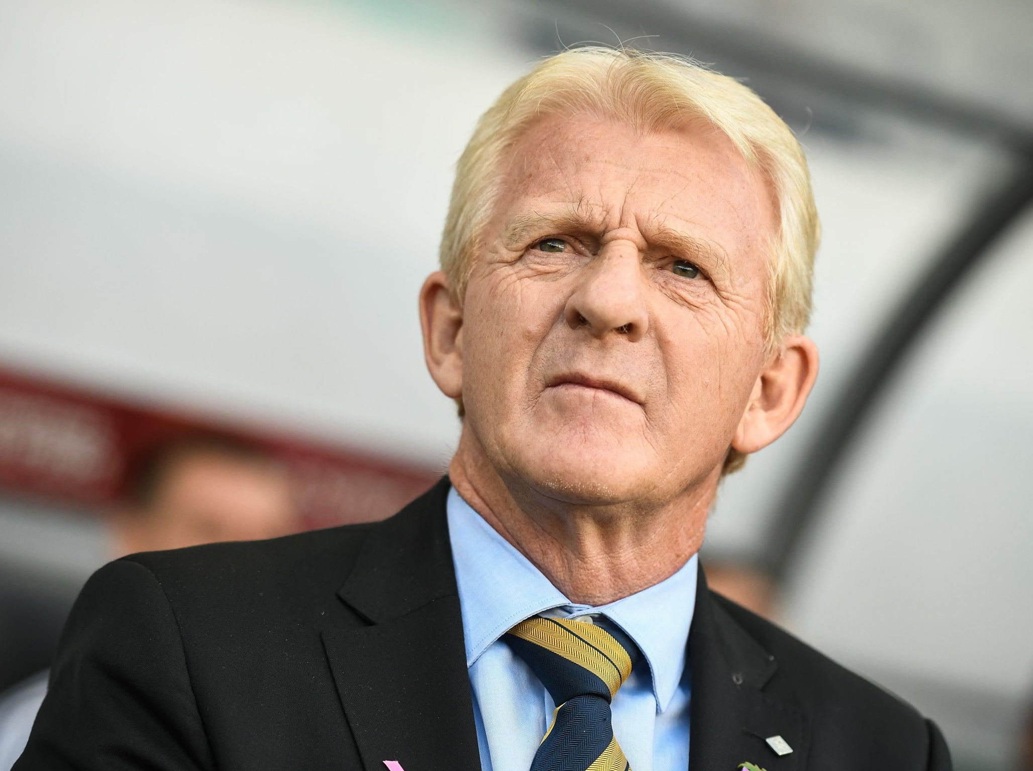 Scotland boss Gordon Strachan dismisses questions about ...