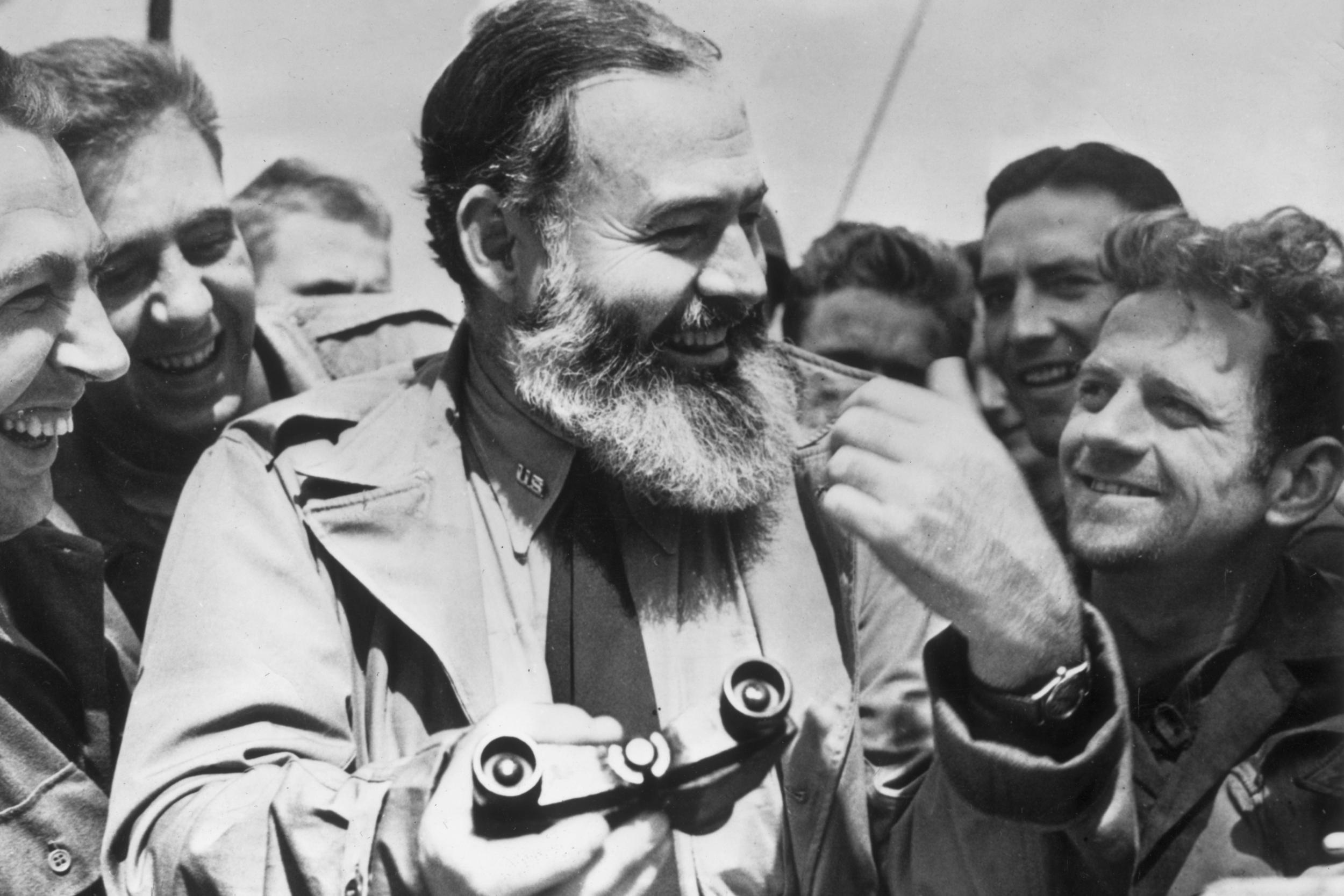 Unseen letters show Hemingway's fight against 'bull**** publicity'
