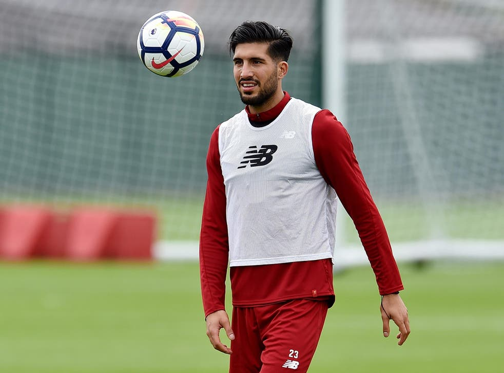 Emre Can's contract expires next summer and he is yet to sign a contract extension