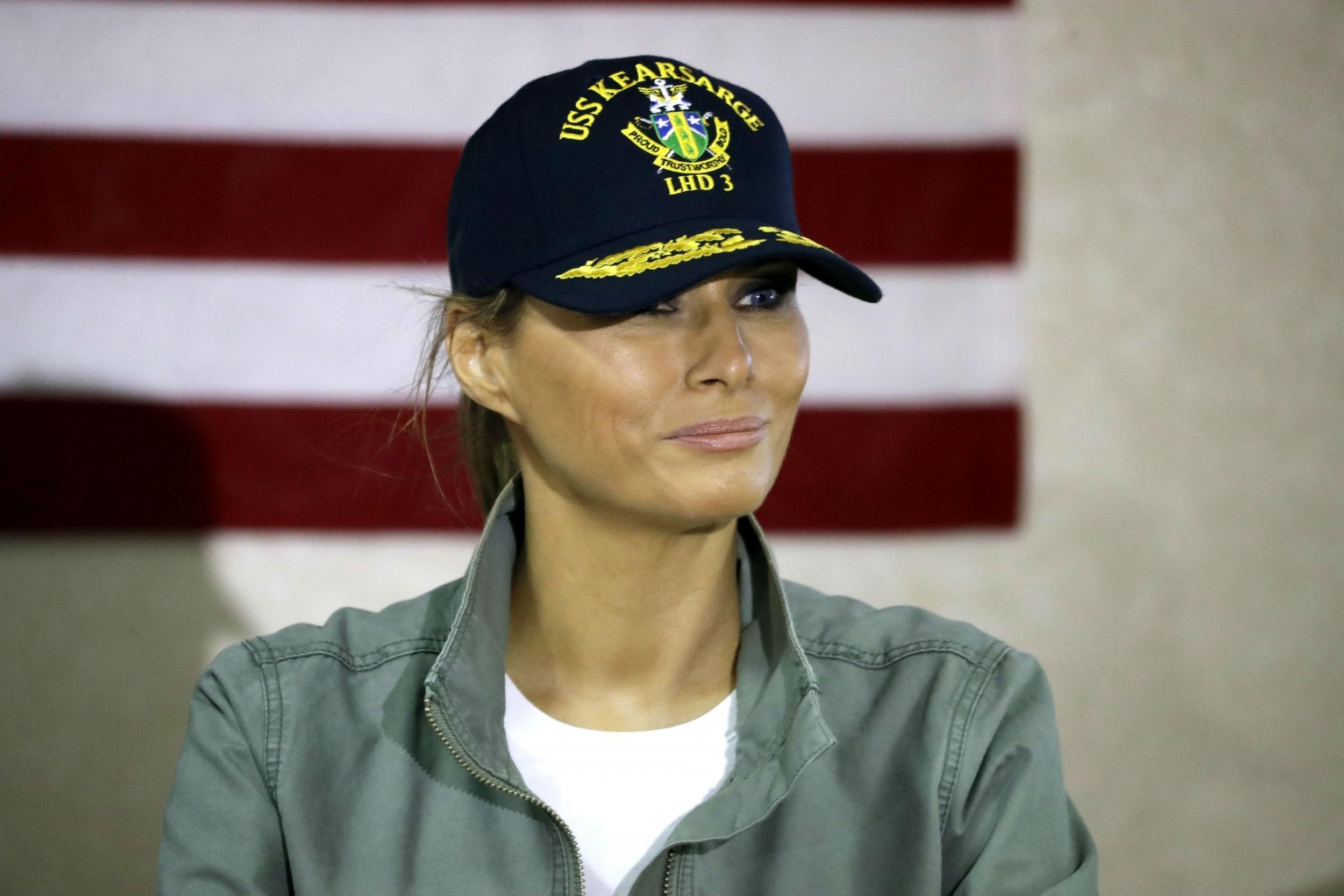 c126b35f201 Melania Trump attacks Donald s  attention-seeking  first wife