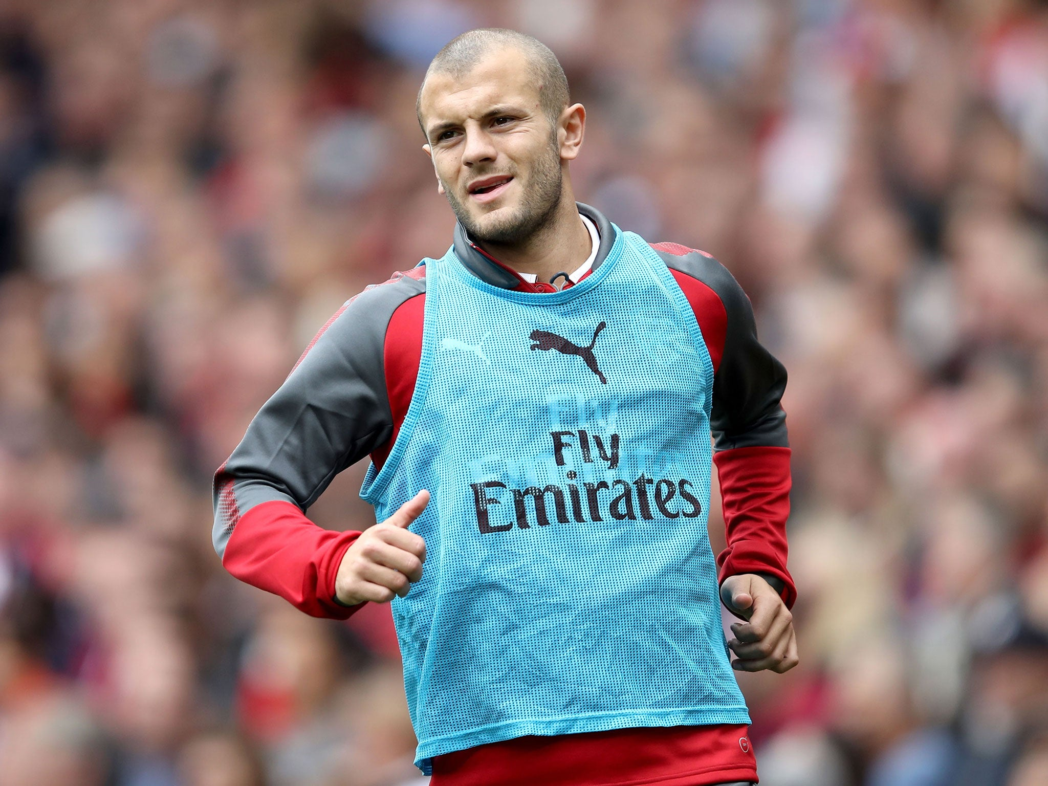 Arsenal midfielder Jack Wilshere determined to win first-team recalls for club and country   The Independentindependent_brand_ident_LOGOUntitled