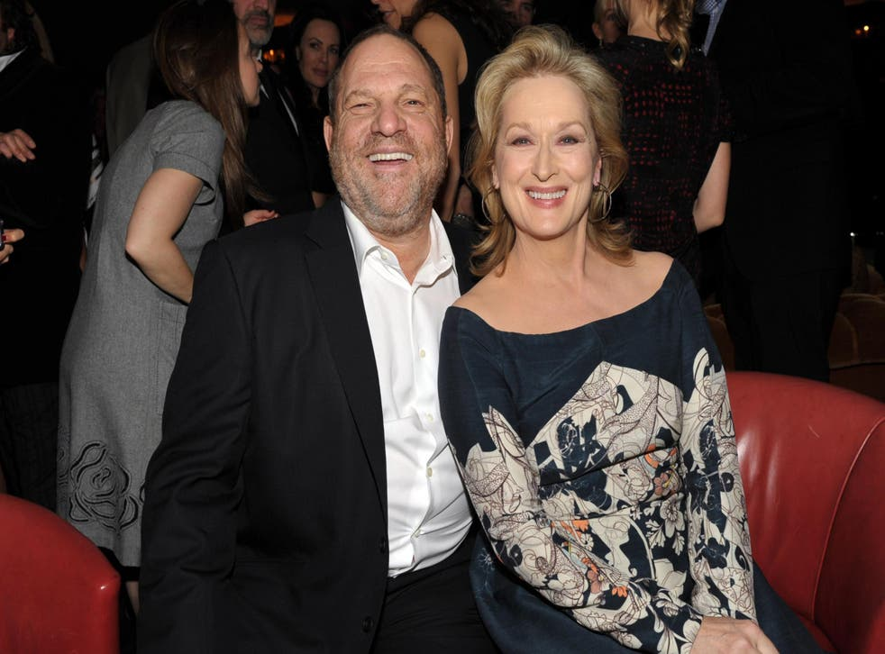 Meryl Streep came under fire after the Harvey Weinstein allegations