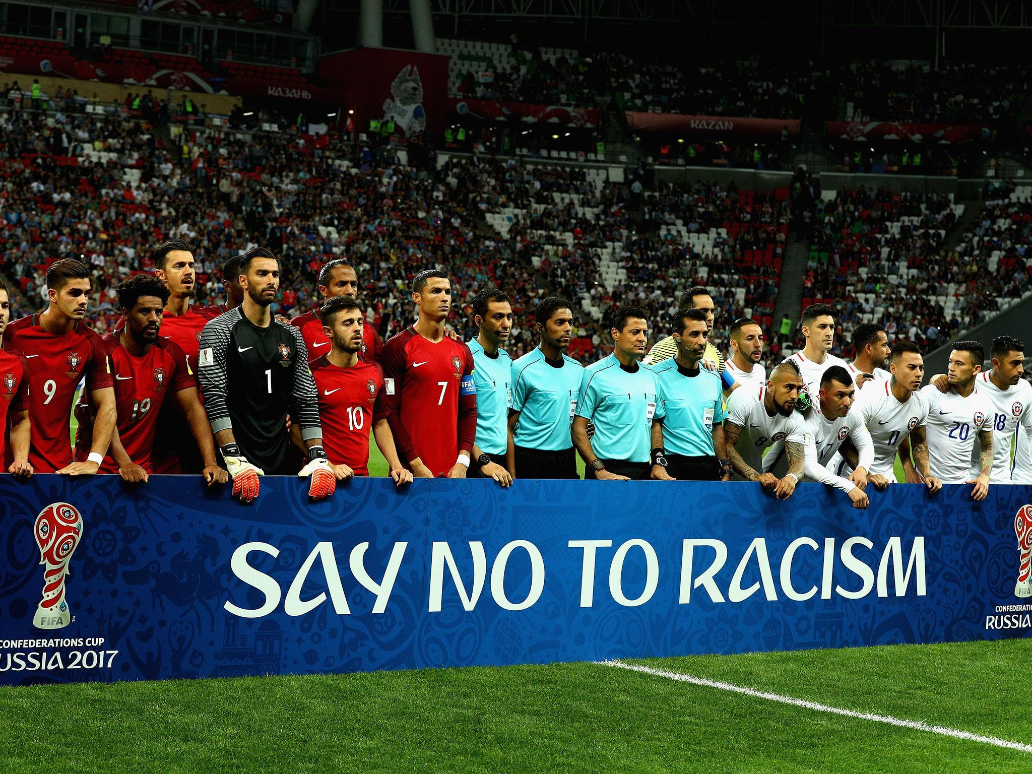 discrimination and racism in the world of sports Sexism has been a bigger problem than racism at the world cup in russia,  sports sports  sexism bigger problem than racism at world cup, anti-discrimination.