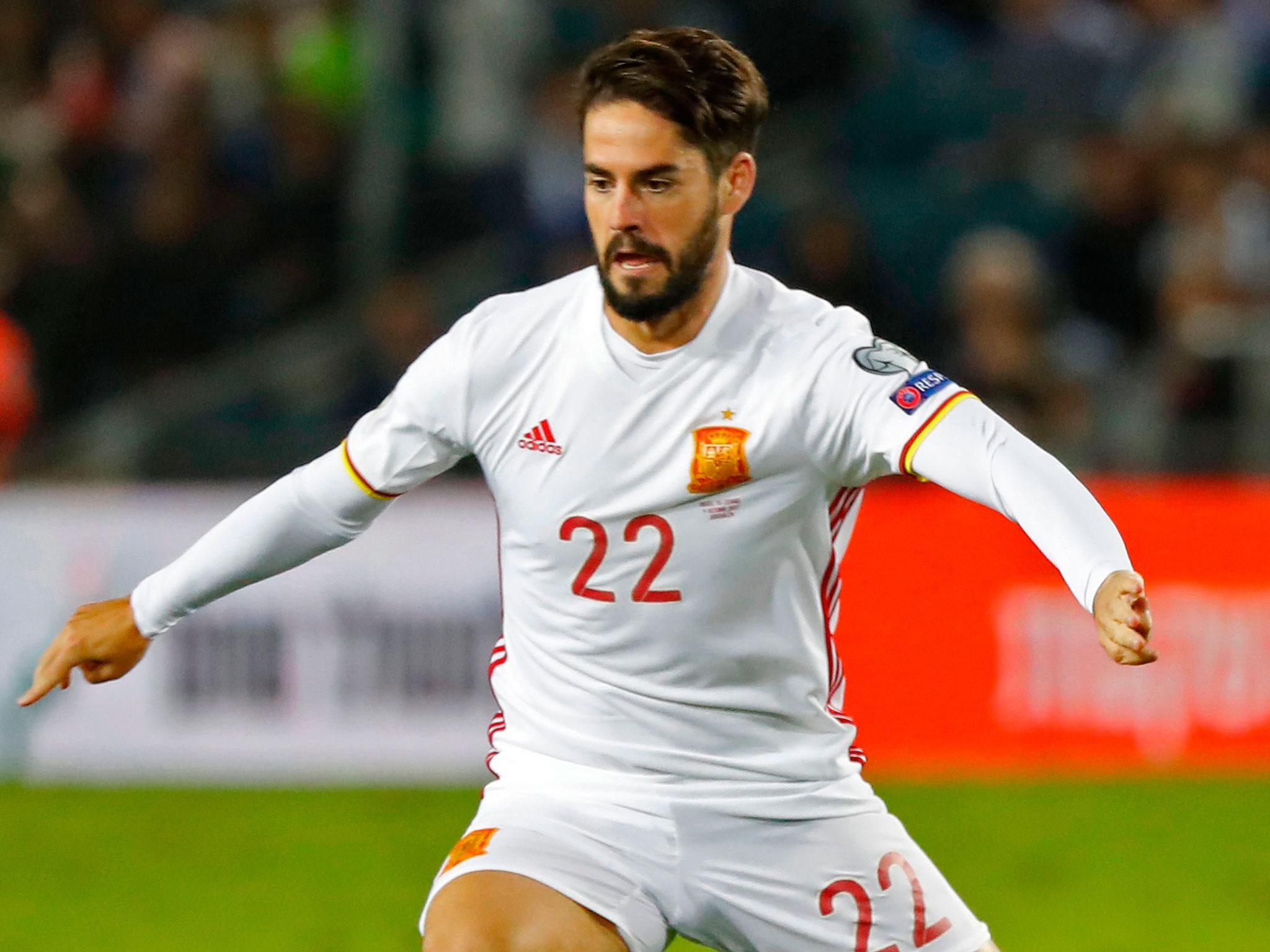 Israel FA deny Real Madrid star Isco was approached by pitch