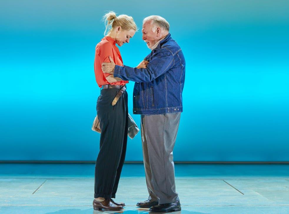 Anne-Marie Duff and Kenneth Cranham star in 'Heisenberg: The Uncertainty Principle' at Wyndham's Theatre