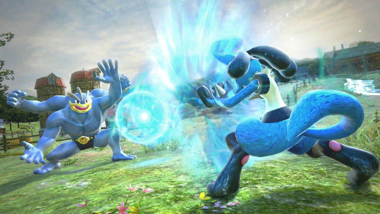 Pokken Tournament DX will be playable in Chinese
