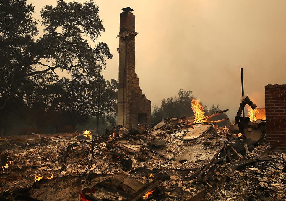 Couple die together in California wildfires after 75 years